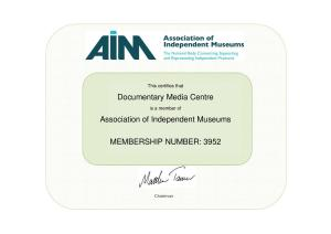 AIM certificate JPEG